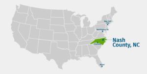 Nash County National Map