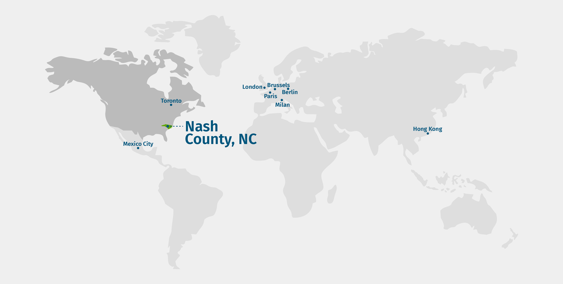 Nash County Global Map