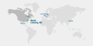 Nash County Global Map